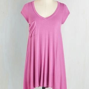 Modcloth Tunic in Orchid Size 1x